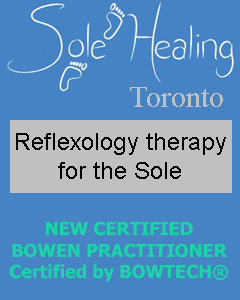 Sole Healing, Reflexology & Bowen Therapy certified by Bowtech